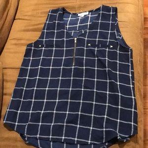 Mine - women's plaid blouse